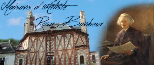 Rosa Bonheur, le Chateau de By, maison d'artiste à visiter